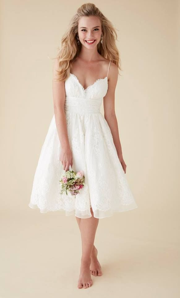 17 coolest variants of short wedding dresses the best for Wedding dress for petite women