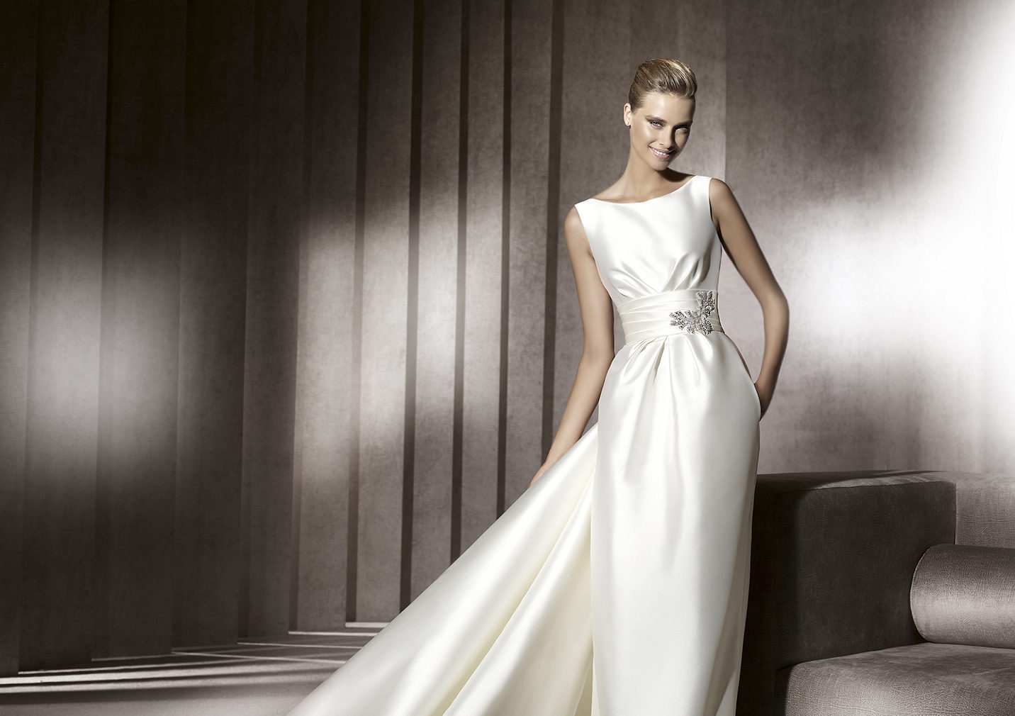 Simple Wedding Dresses: How To Embellish Simple Wedding Dresses?