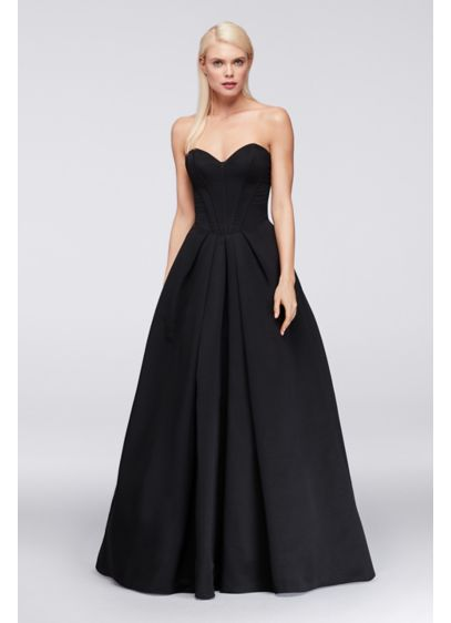 Black wedding dresses review of mona lisa wedding gown by for Zac posen wedding dress price