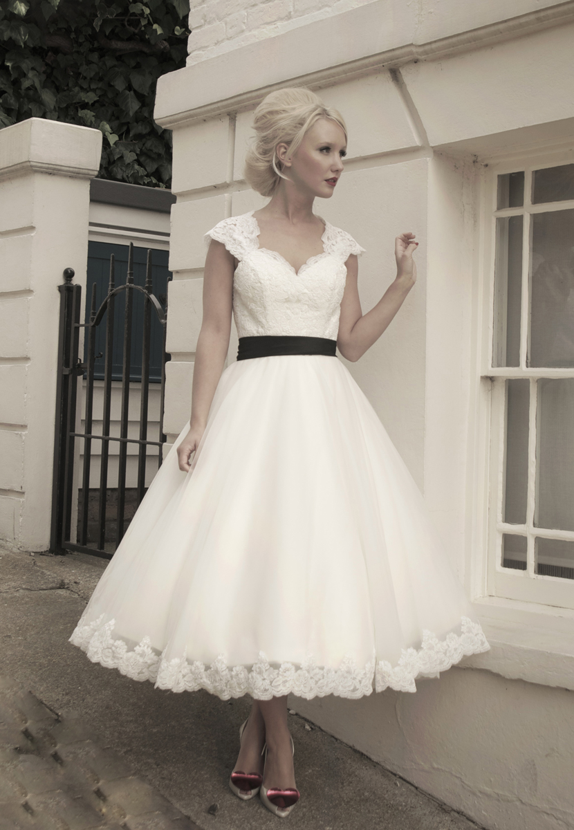 27 Inspiring Ideas of Tea Length Wedding Dresses | The Best Wedding ...