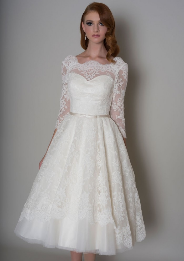 27 Inspiring Ideas Of Tea Length Wedding Dresses  The. Lace Vintage Wedding Dress Images. Wedding Dress Long Sleeve Short. 1920 Vintage Wedding Dresses Uk. Big Puffy Wedding Dresses With Long Trains. Indian Wedding Dresses Couture. Wedding Dress Style Chart. Off The Shoulder Wedding Dresses Australia. Beach Wedding Dresses In Calgary