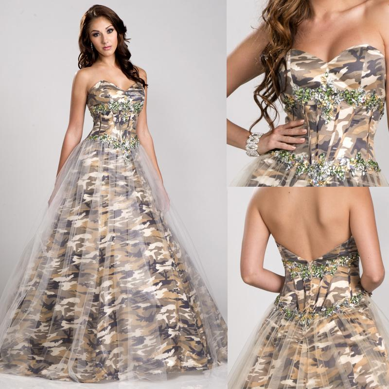 How to Look Feminine in Camo Wedding Dresses? | The Best Wedding Dresses