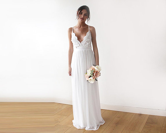Summer wedding dress by Blushfashion
