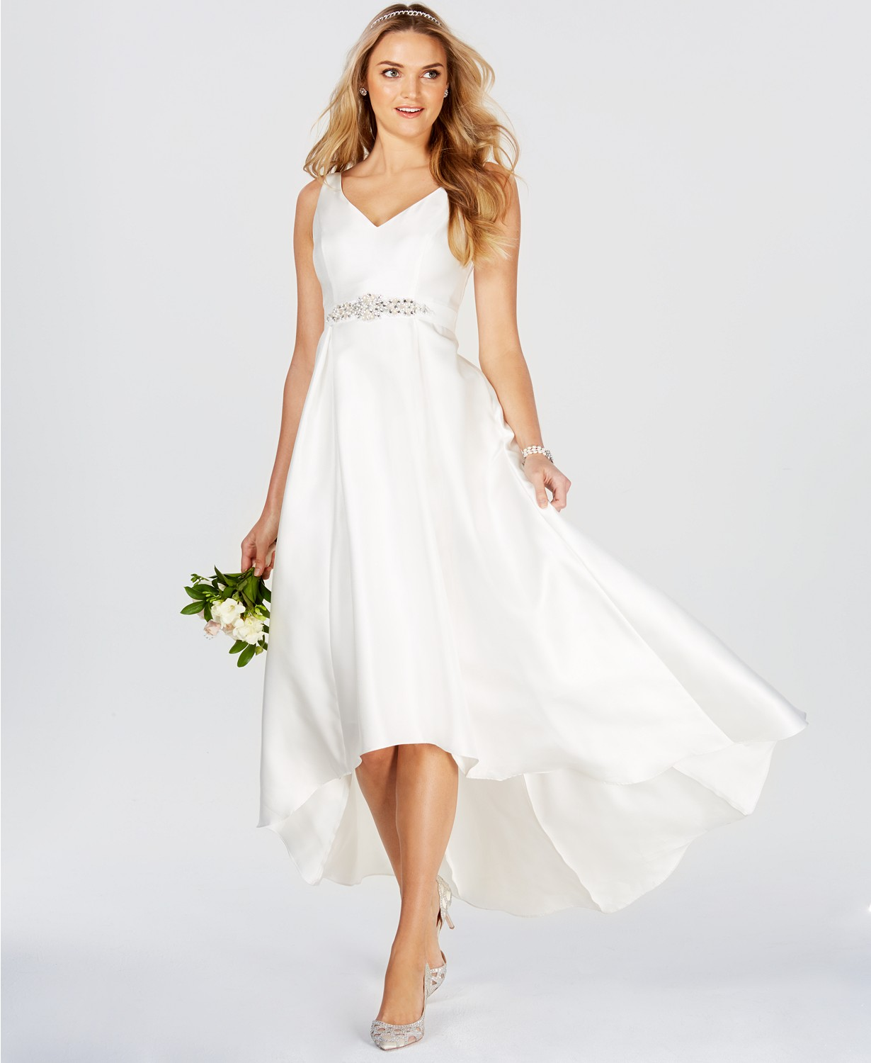 High-low Adrianna Papell dress