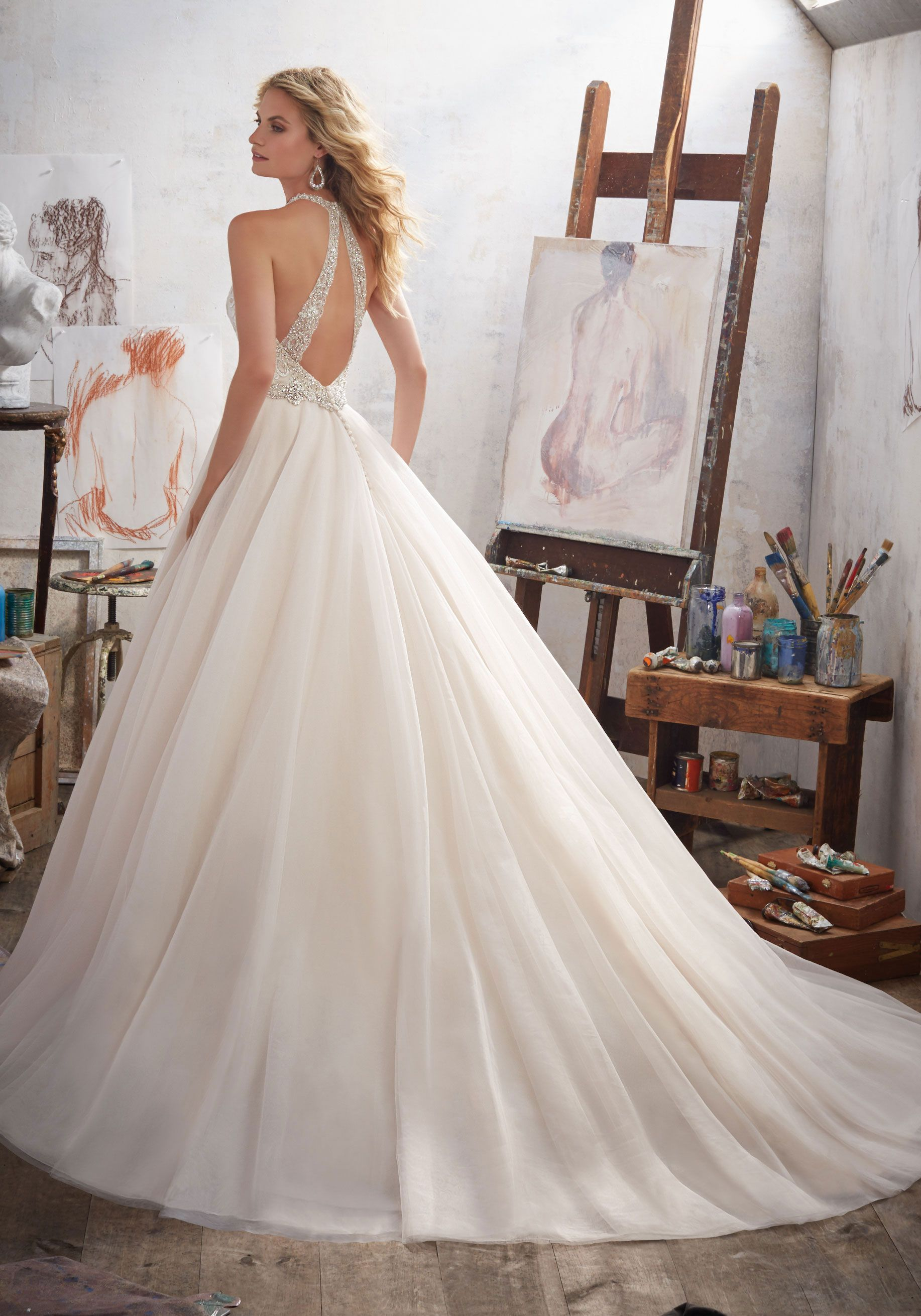 Margarita wedding dress by Morilee