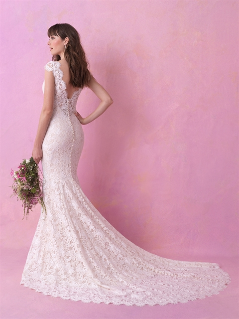 Lace wedding dress by Allure