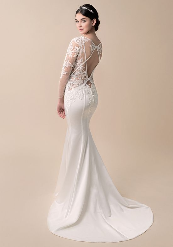Sexy back dress by Moonlight Bridal