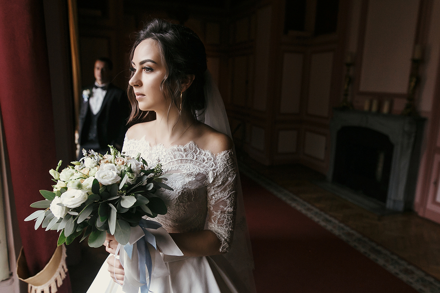 Off the Shoulder Wedding Dress Trends 2018