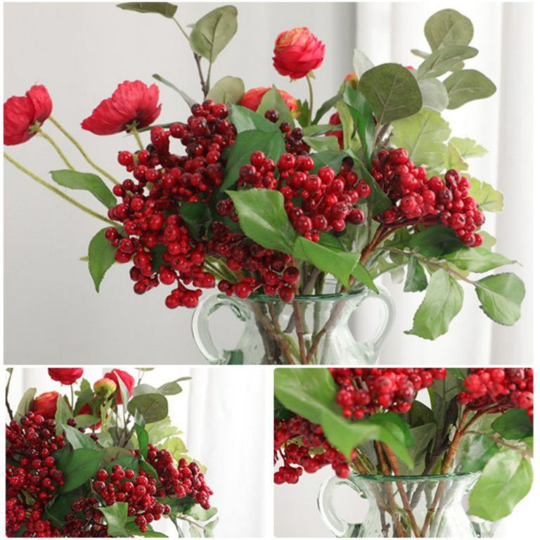 Artificial Berry Branch