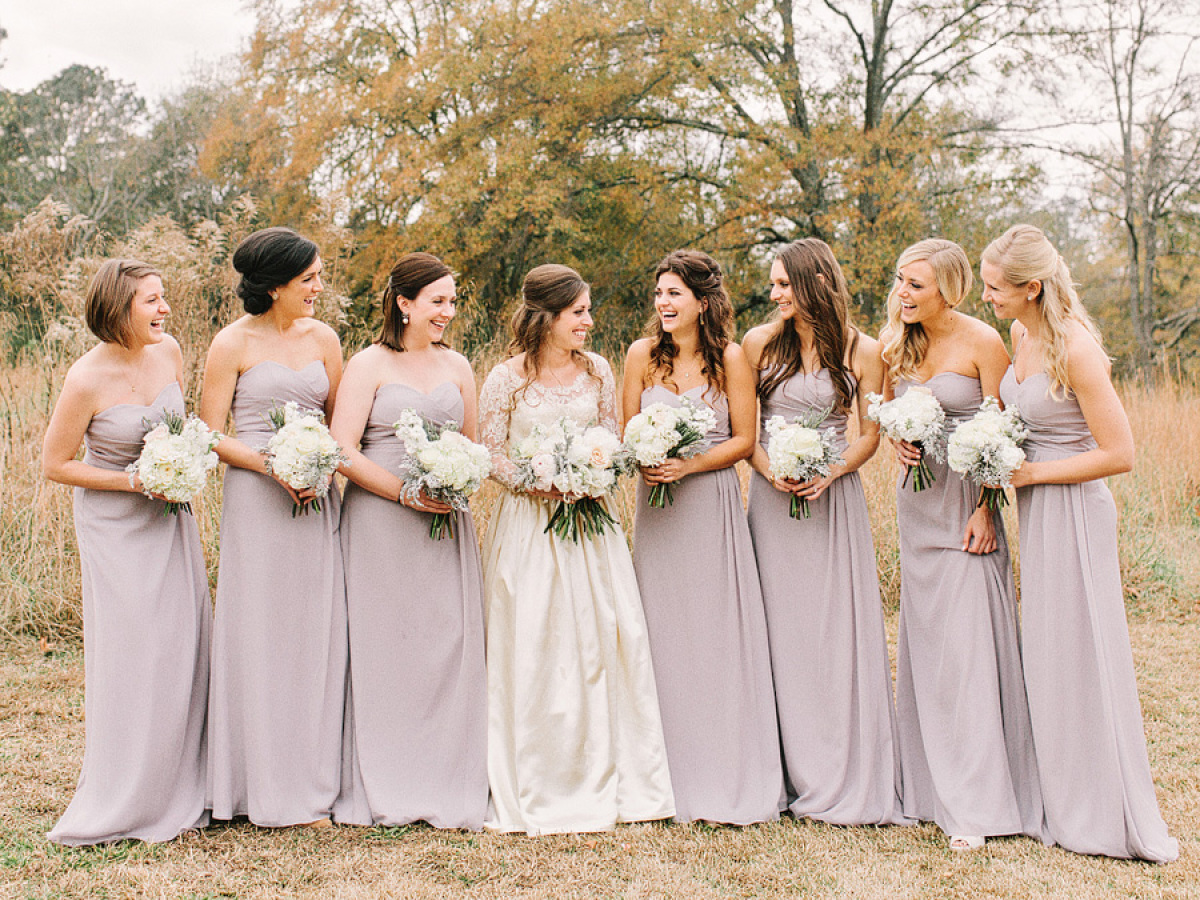 Blush Bridesmaid Dresses Long The Best Wedding Dresses