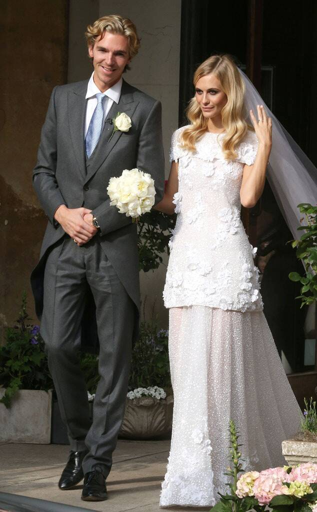 Poppy Delevingne wedding dress