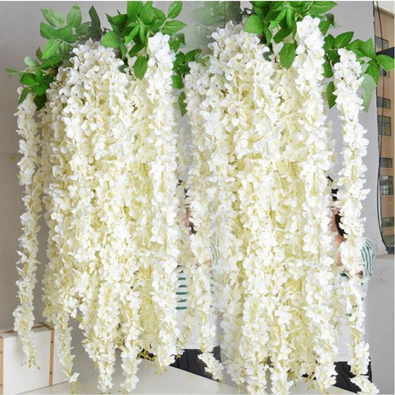 Hanging flowers decor