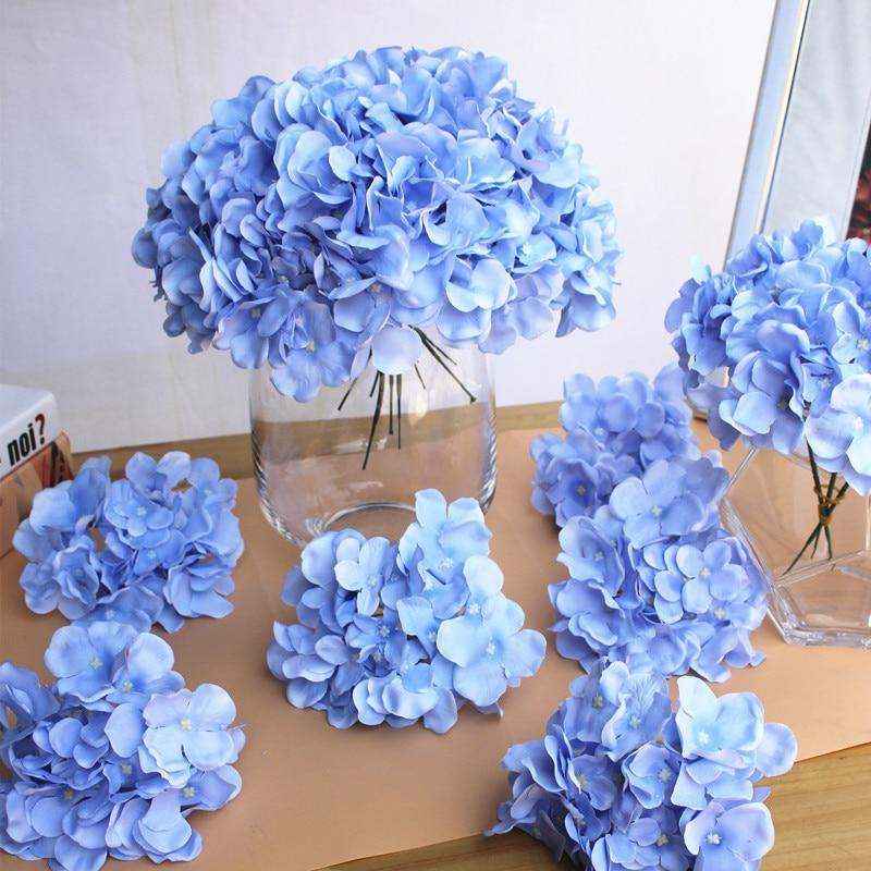 Hydrangea table centerpiece