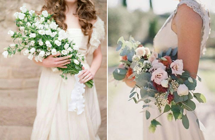 Pageant wedding bouquets