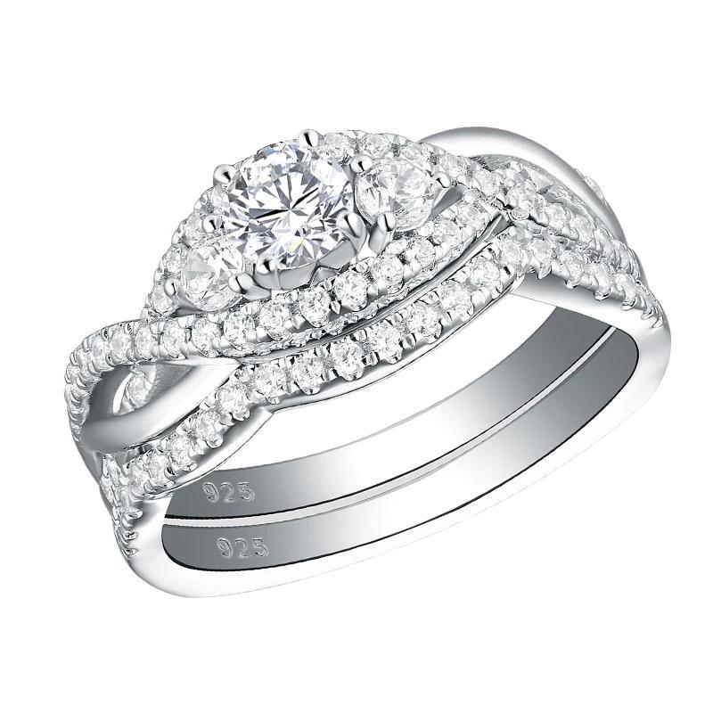 Stearling silver wedding ring
