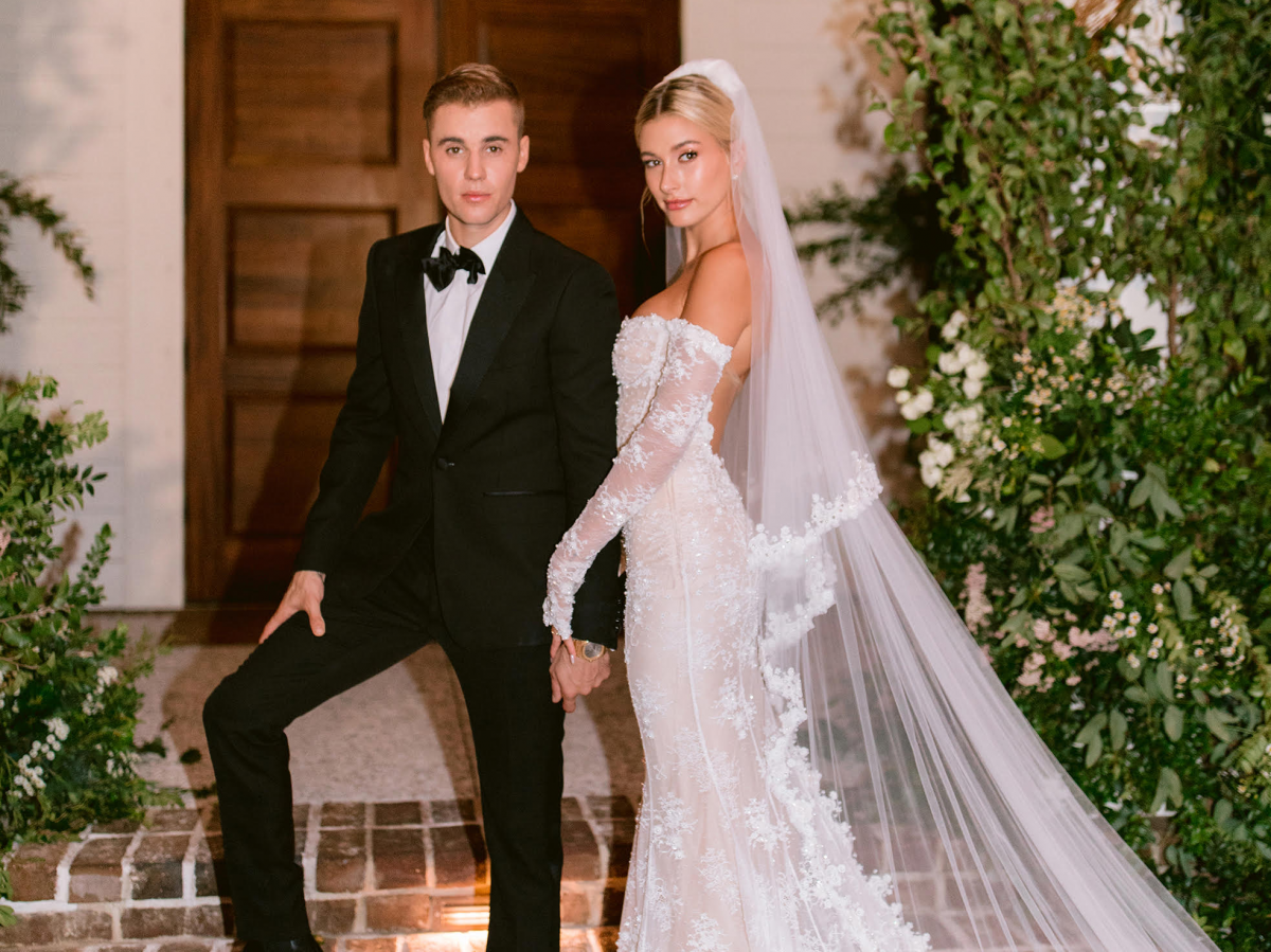 Hailey Bieber and Justin Bieber wedding