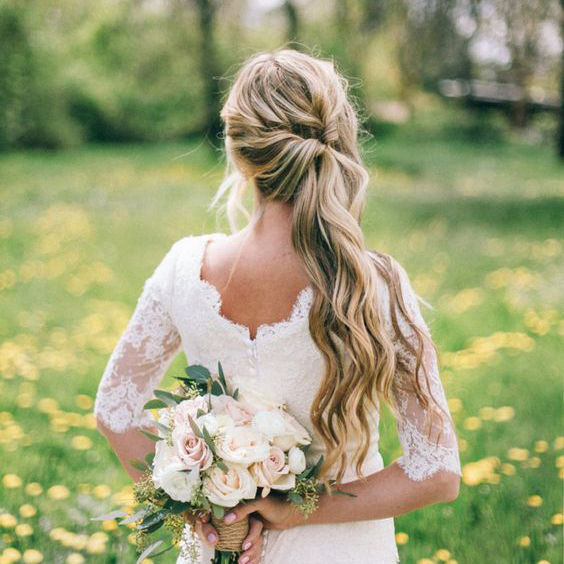 The Most Stylish Wedding Hairstyles For Long Hair The Best