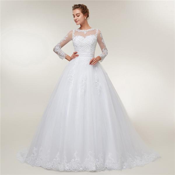 Transformer wedding dress
