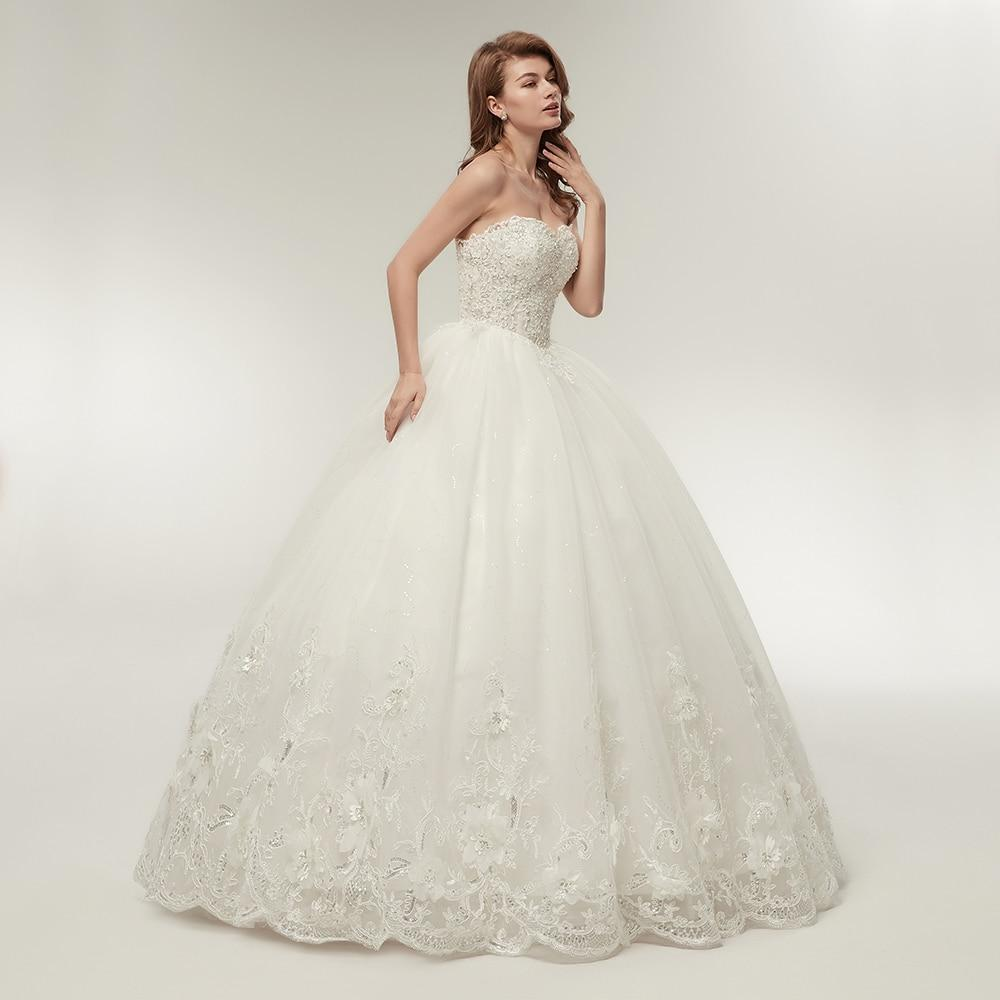 Wedding dress for a girl with rectangle body type