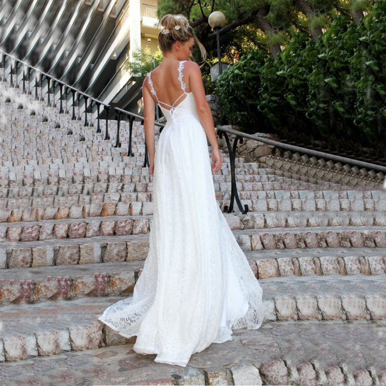 21 Astonishing Ideas Of Backless Wedding Dresses The Best Wedding Dresses,Beach Wedding Simple White Bridesmaid Dresses