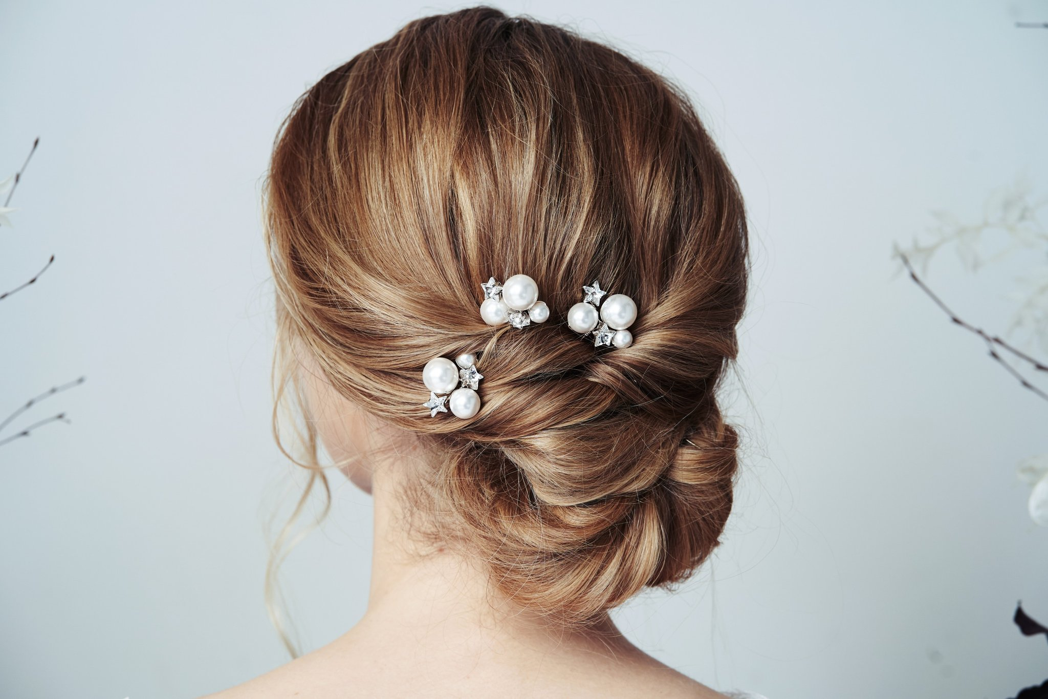 Wedding chignon hairstyle