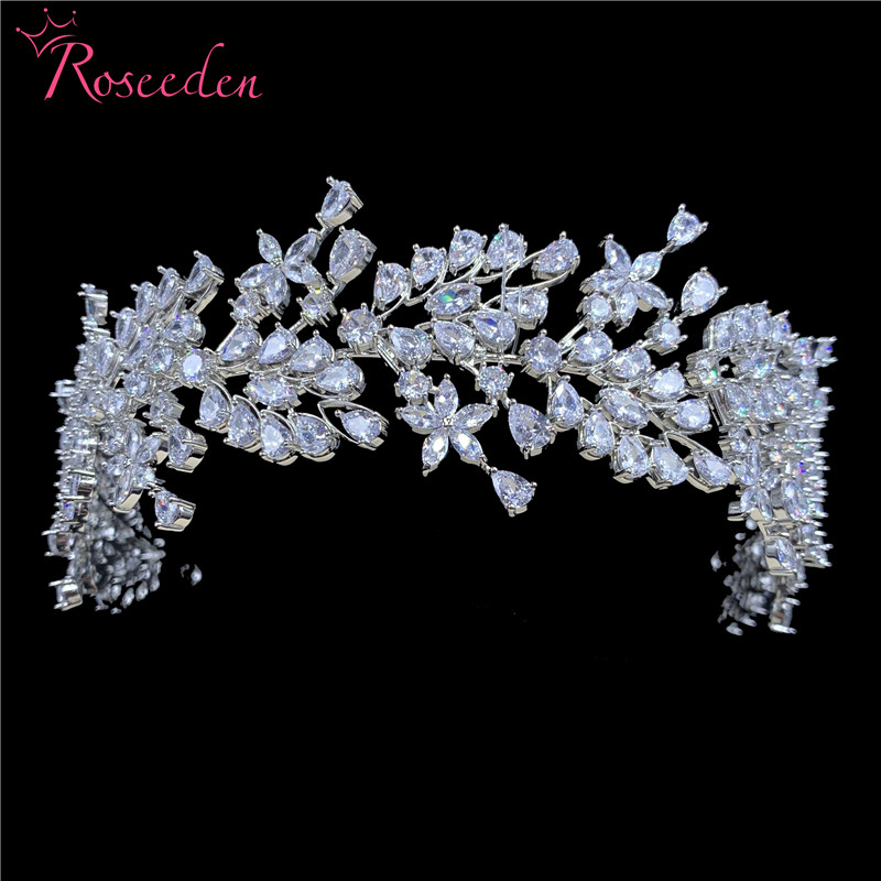 Luxurious cubic zirconia headband