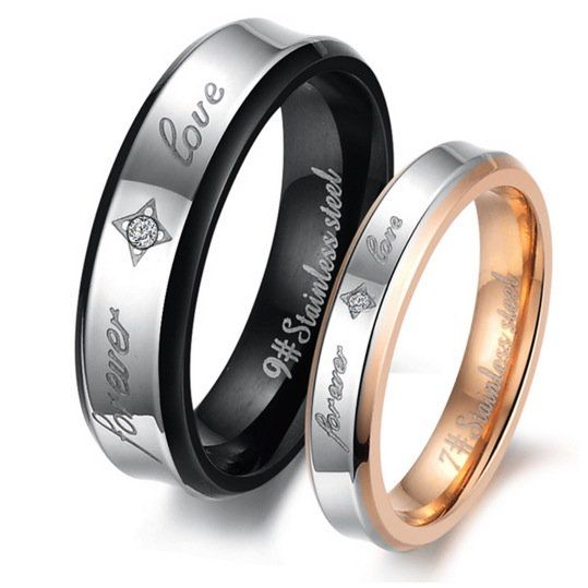 Stainless steel band set