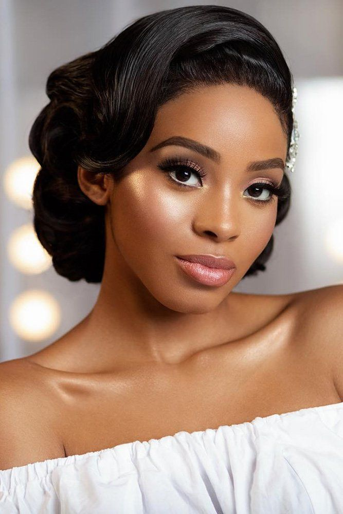 21 Amazing Ideas of Bridal Hairstyles for Black Women | The Best Wedding Dresses