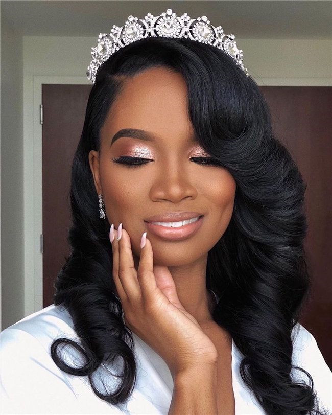 21 Amazing Ideas of Bridal Hairstyles for Black Women ...